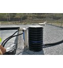 The range PETRO PIT® is composed by a set of rainwater filter cartridges designed to drain rainwater in hydrocarbons retention b