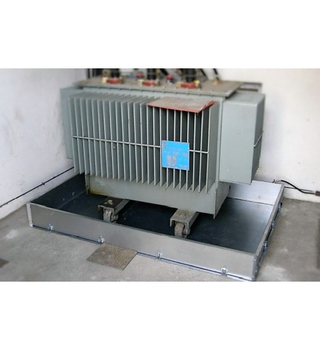 Retention Tank Bund For Electrical Transformer With 5