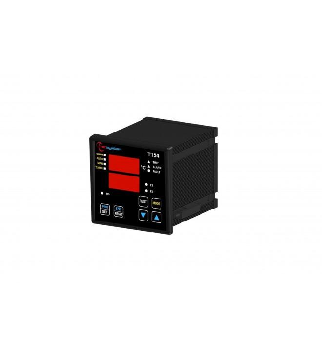 Relais température avec affichage numérique T-154 POUR TRANSFORAMTEUR SEC enrobé IP31 IP 31