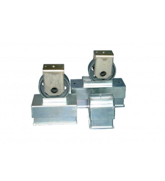 Silent bloc à ressort en acier inoxydables pour un amortissement sur le long terme garanti de 99 % des vibrations transmises