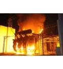 Fuego de un transformador debido a la ausencia de una cubeto anti retencion