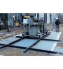 Cobertura anti incendio para transformadores EXTICOV Sistema anti fuego en chasis a empotrar para fosos de hormigón
