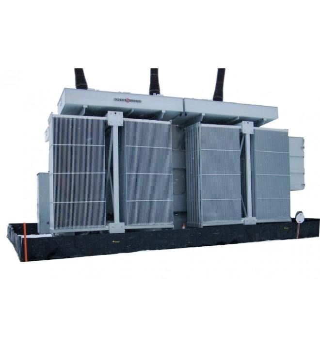 Cubeto retención Flexible TRFLEX ECO almacenar transformador potencia aceite SANERGRID fuga subestación