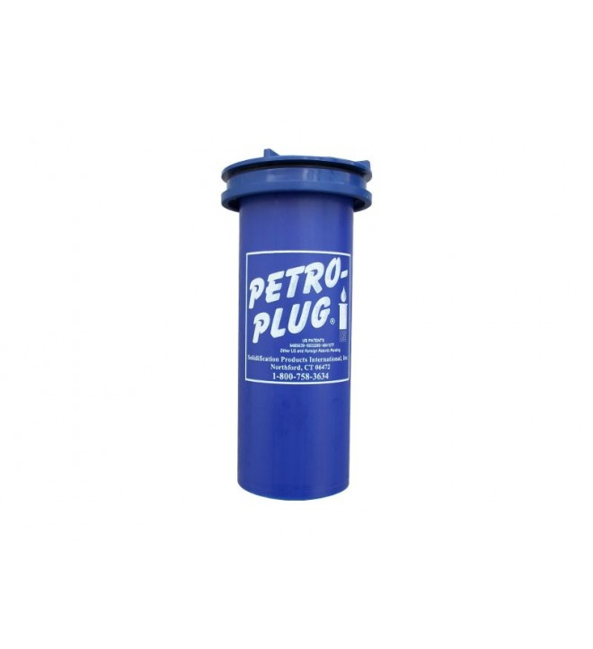 Cartouche PETRO PLUG® pour canalisation drainer les eaux de pluies fosses et bac pour éviter la pollution hydrocarbures