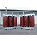 transformateur sec enrobé bi tension ECODESIGN distribution enveloppe de protection IP31 sondes PT100 relais T154