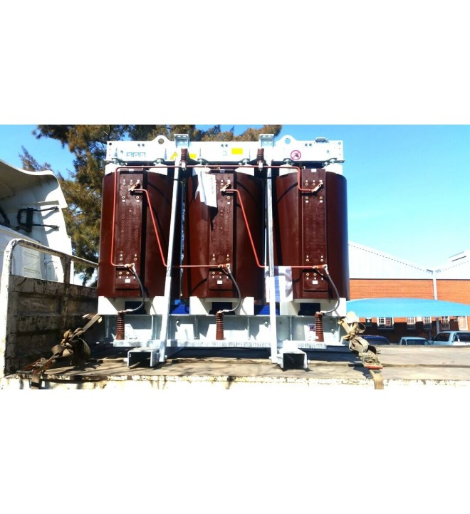 Cast resin dry type transformers ECO DESIGN SANERGRID fire