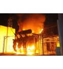 Cobertura anti incendio para transformadores EXTICOV LHD Sistema anti fuego enrejado corta fuego para fosos de hormigón y riesgo