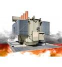 Couverture caillebotis coupe-feu EXTICOV LHD pour fosse transformateur électrique, protection des fosses béton des sous station