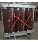 Bi tension Dry type distribution cast resin transformers Eco design ecodesign T154 PT100 T119 IP31 SANERGRID busbar