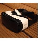 Casco de realidad virtual Oculus Gear VR visto desde arriba