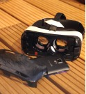 Visualisation du package avec le Samsung Galaxy et son Oculus Gear VR