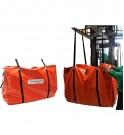 Cubeto de retención flexible TRFLEX ECO TRUCK en su bolsa de transporte