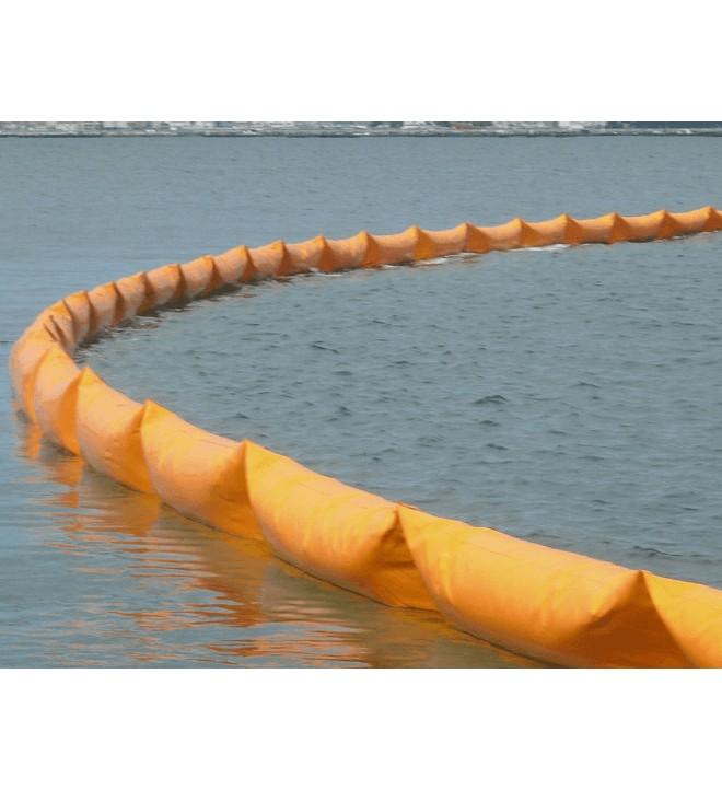 Barrage cylindrique GRINTEC à utiliser en eaux protégées, ports, eaux libres et baies
