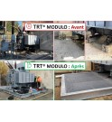Cubeto retención modular transformador potencia subestacion aceite TRT MODULO SANERGRID® aceite fuga subestación