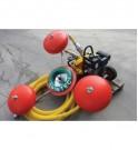 Skimmer de desbordamiento GRINTEC® y su bomba hidráulica