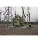Transformateurs de puissance KOLEKTOR ETRA SANERGRID sur fosse de rétention avec système de couverture anti feu EXTICOV LHD