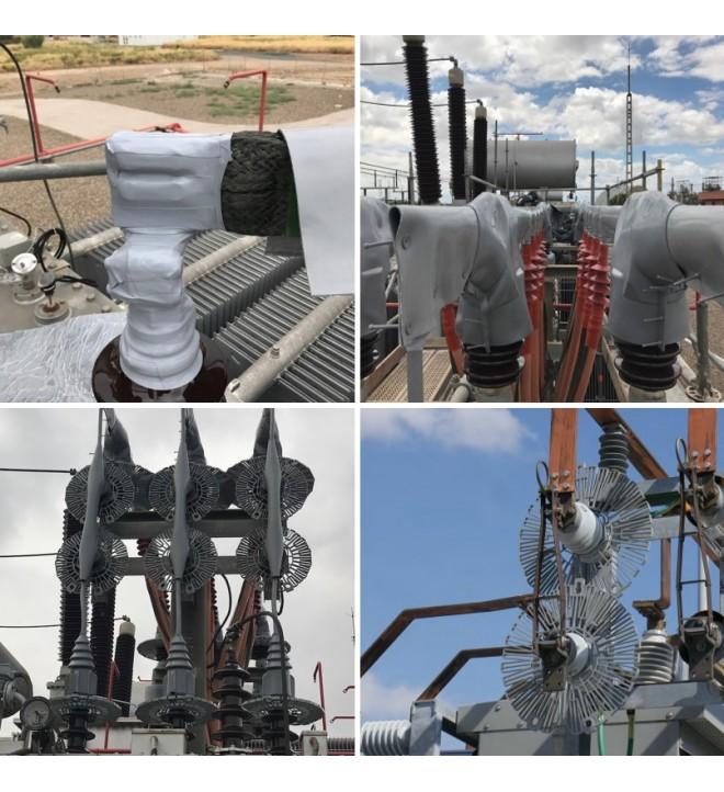 Midsun protection protection avifaune HTB HTA transformateurs électriques et sous stations tête de câble