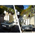 Bac anti feu ERT avec système de roulage transformateur OCREV poste EDF Hydrostadium