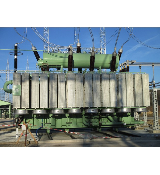 Oil immersed electrical power transformers ETRA