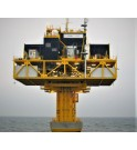 Transformateur 50 MVA 155 kV EnBW pour plateforme éolien offshore KOLEKTOR ETRA SANERGRID mer Baltique