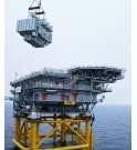 Transformateur 200MVA 115 kV pour plateforme éolien offshore Danemark KOLEKTOR ETRA SANERGRID sous station