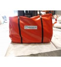 sac de transport et de stockage pour bac de rétention souple et bache flexible TRFLEX sanergrid