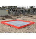 TRFLEX ECO with non-slip grating and anti-hydrocarbon filter SPI by SANERGRID