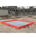 TRFLEX ECO avec caillebotis anti dérapant et filtre anti hydrocarbures SPI de SANERGRID
