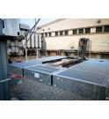 bac de rétention modulaire pour transformateur SANERGRID avec système de filtration PETROPIPE