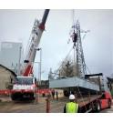 ERT Protección contra incendios para transformador de potencia en arcelor industrial.