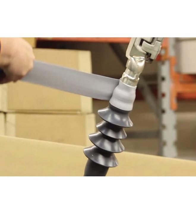 E/TAPE Protección anti-intrusión animal de rollo de silicona STEP en barras aislantes y aisladores MIDSUN