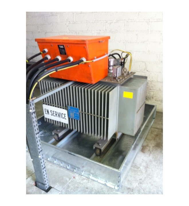 BDRG2 transformer retention tank with detachable facade length width and gasket