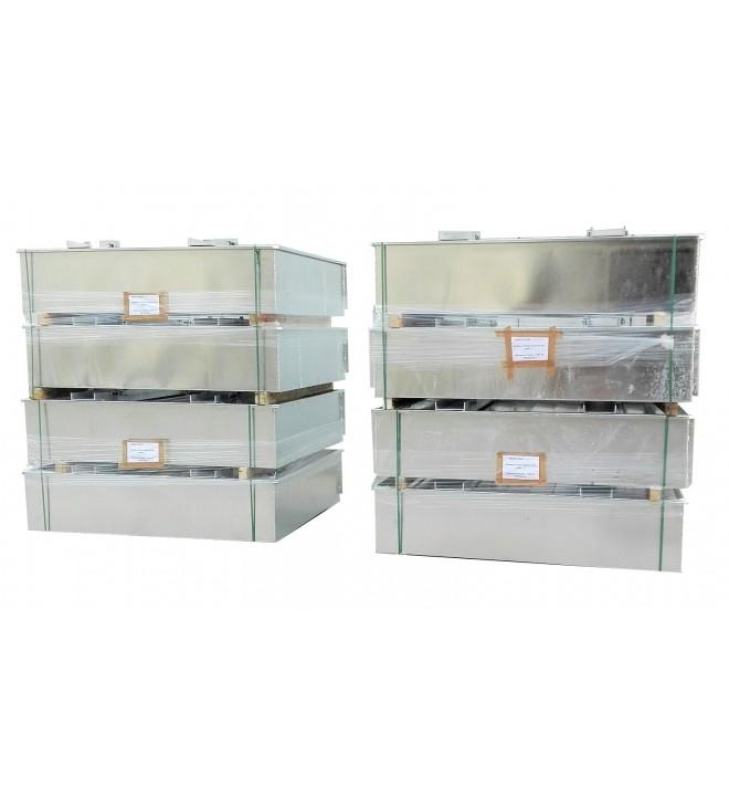 Gama estándar de cubeto de retención de fuego para transformador ERT SANERGRID