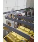 Ejemplo de juegos de barras protegidos con cinta de silicona MIDSUN anti intrusion avifaune anti arc