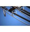 Probador de aisladores POSITRON para ainsladores compuestos de lineas de alta tension