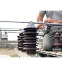 E_TAPE Sanergrid fácil instalación cinta auto-fusible protección avifauna de estaciones eléctricas