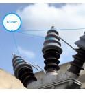 E_COVER gama protección de avifauna de conectores de alta tensión para roedores y rapaces MIDSUN E gama sanergrid