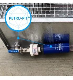 filtre hydrocabrure petro pit sur bac de rétention transformateur sanergrid