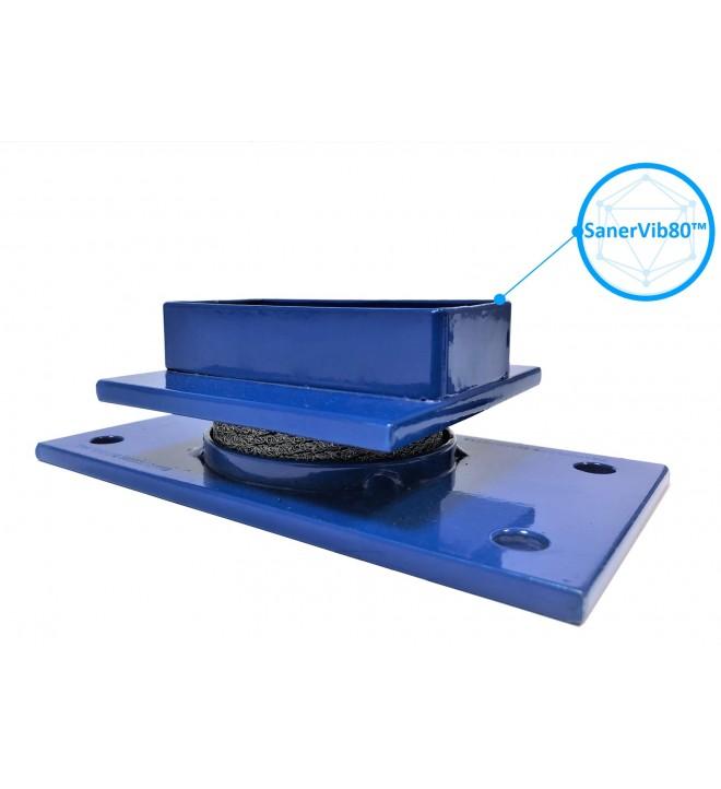 Sanervib 80 anti-vibration silentblock for transformer wheels