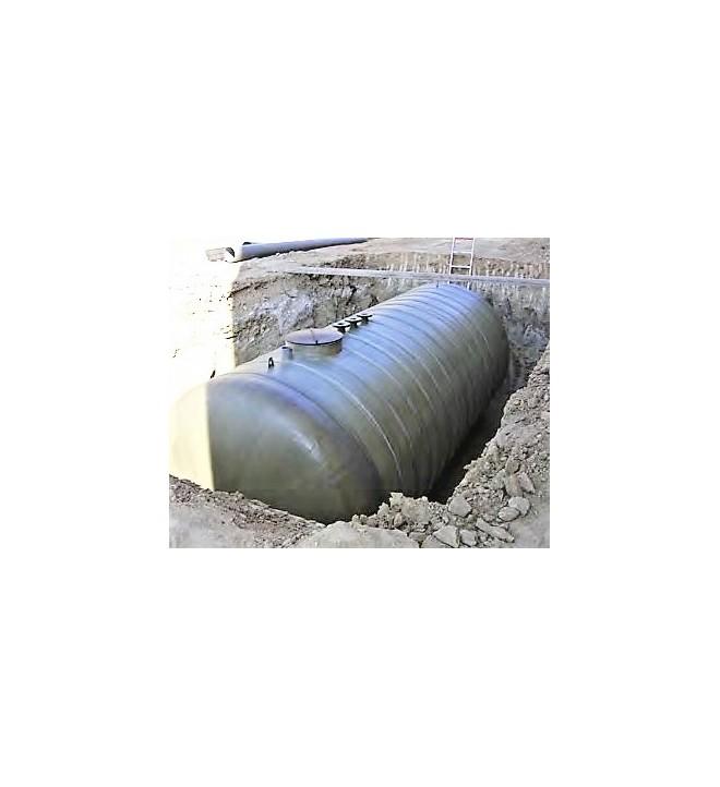 DEPOSIT prefabricated remote pit for SANERGRID transformer 80,000 liters