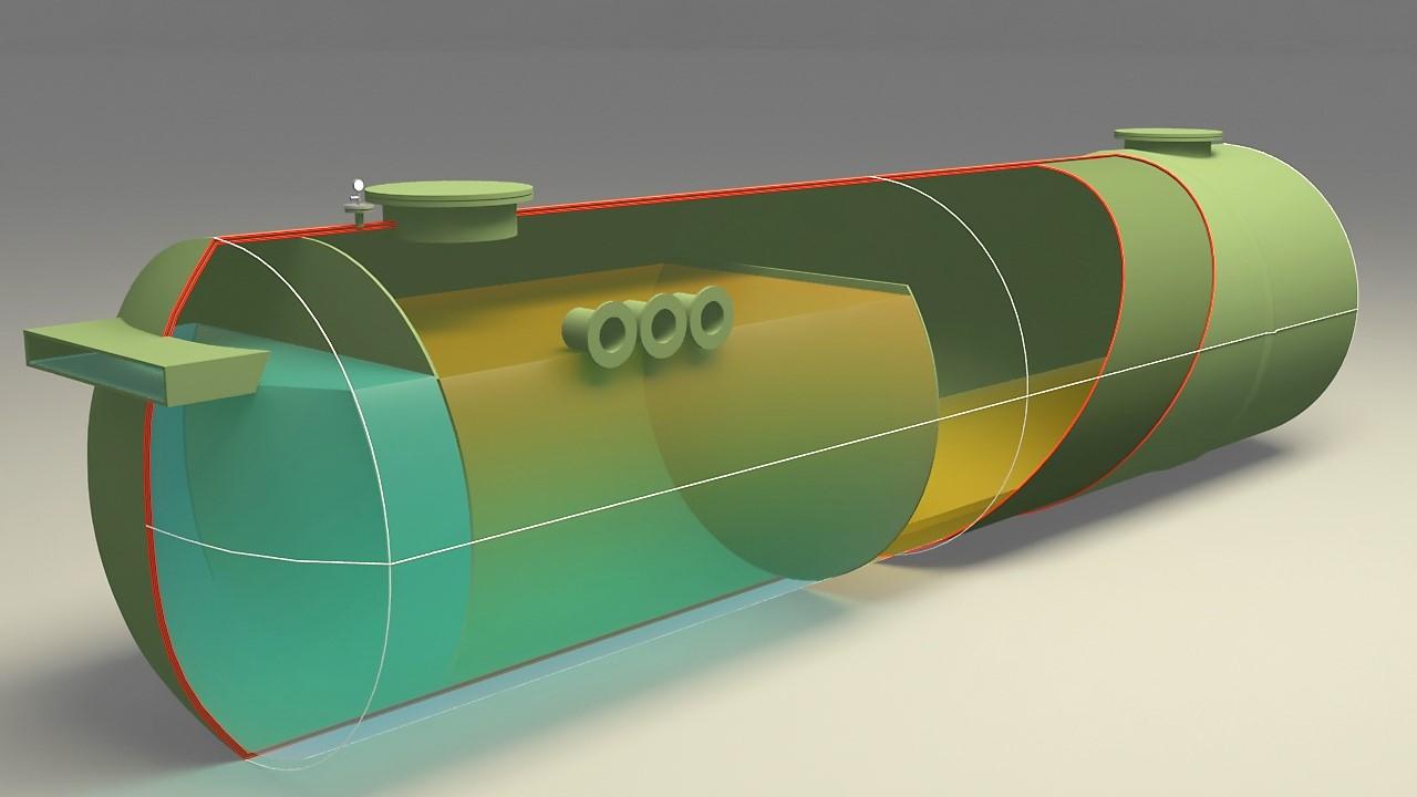 DEPOSIT-MV 30 m3 fosse déportée monobloc monovolume