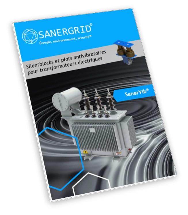 SanerVib solution anti bruit et plot anti vibration pour transformateur