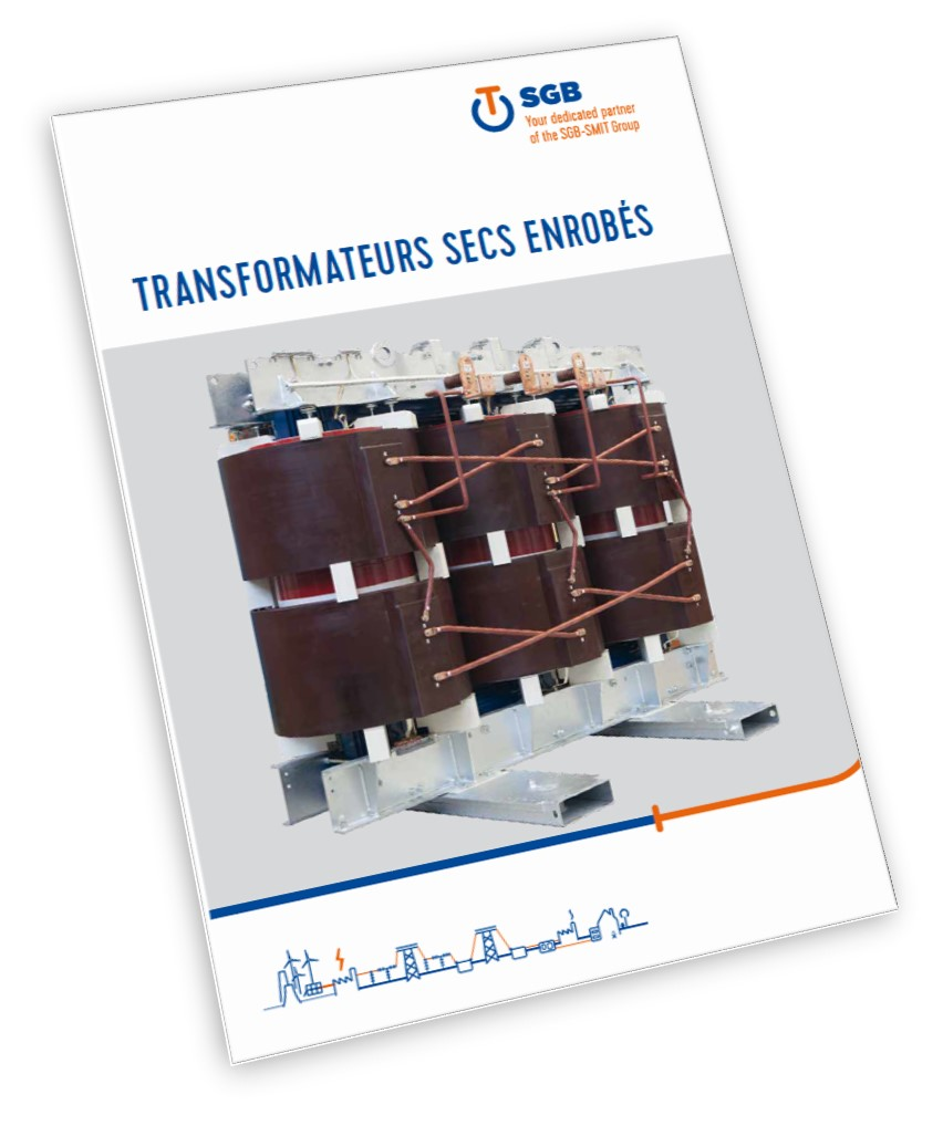 SGB gammes de transformateur sec de distribution